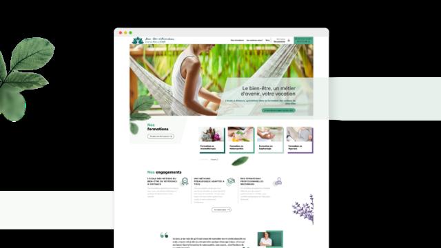 Création d'un site internet d'E-learning : Yoozly conçoit et développe le site web catalogue et l'espace compte de suivi de formation